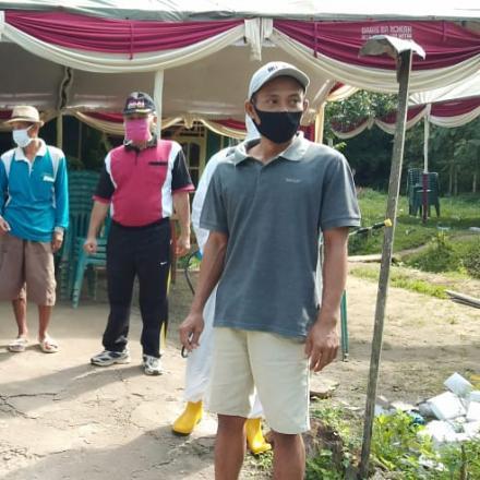 Pencegahan penyebaran Covid-19 di Desa Pranti