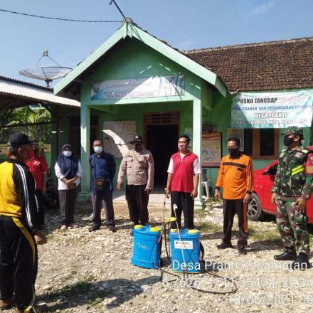 Kegiatan PPKM-Mikro Desa Pranti